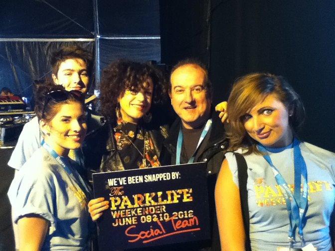 Meeting Annie Mac at Parklife