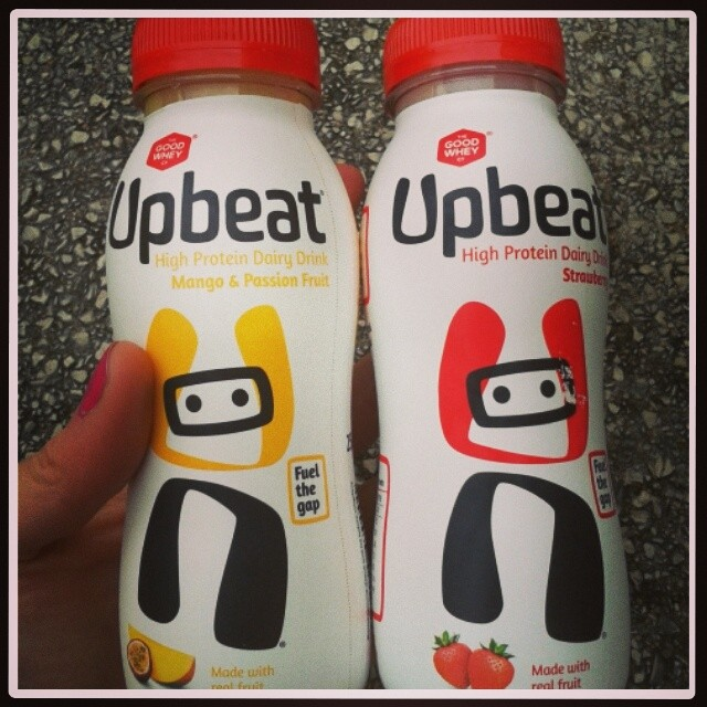 Upbeat drinks
