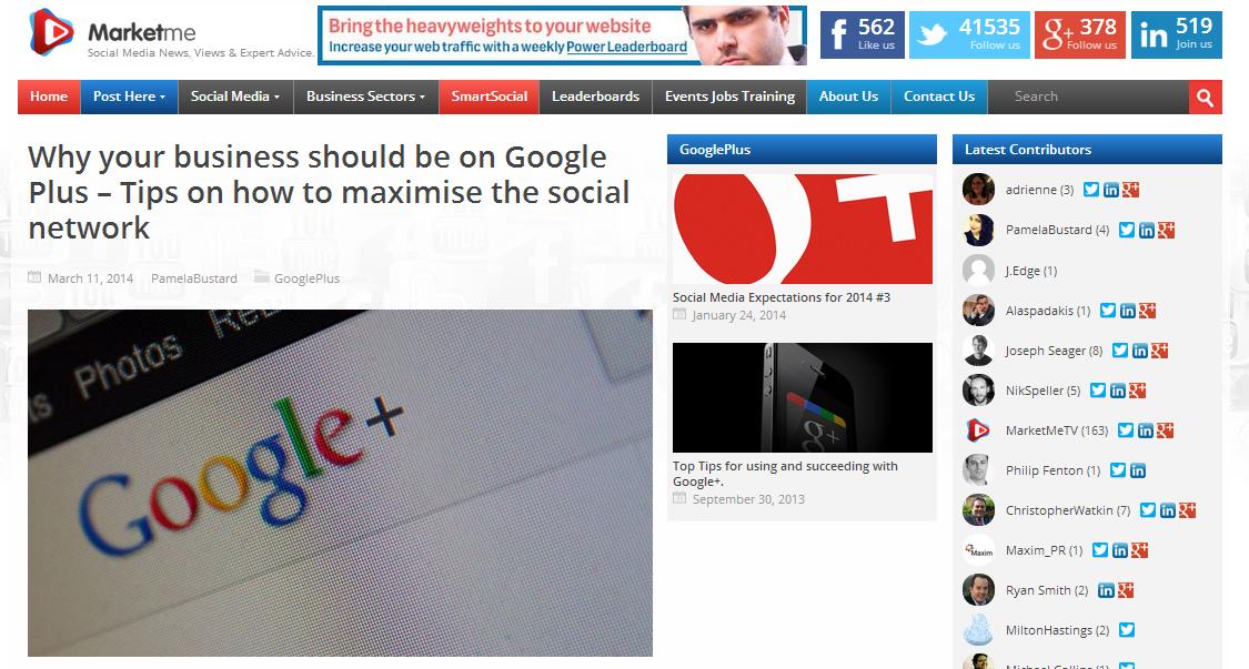 GooglePlusMarketMe
