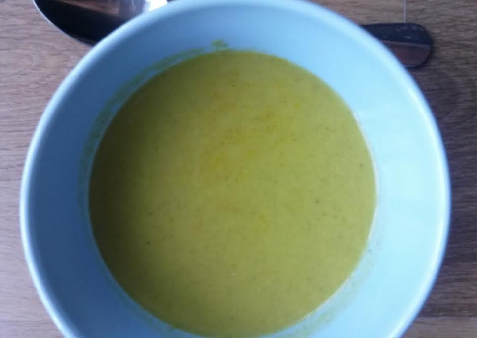 Broccoli Matcha soup