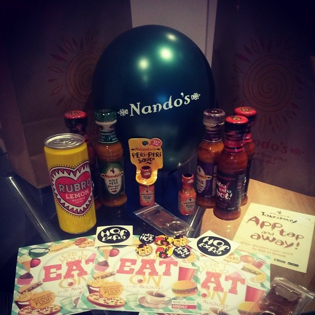Nandos-goodiebag