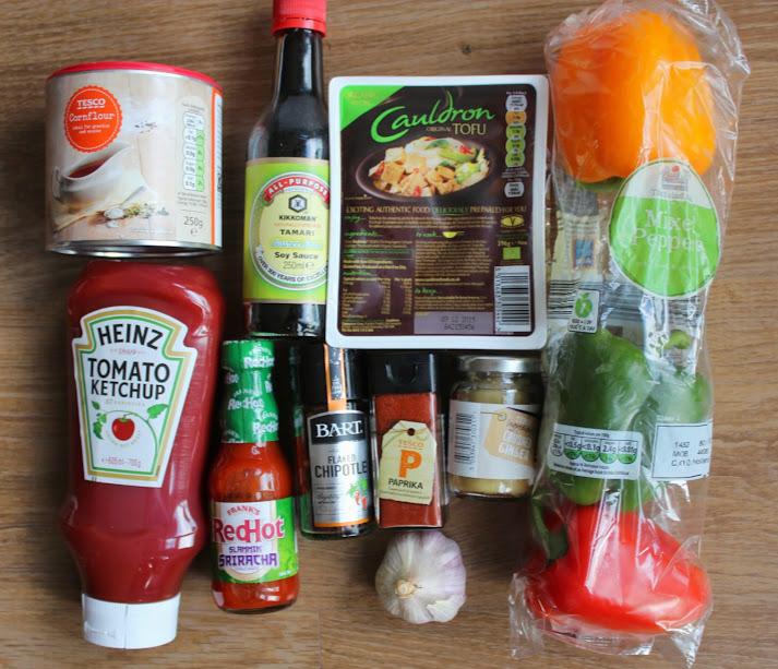 #KetchupCreations: My ingredients