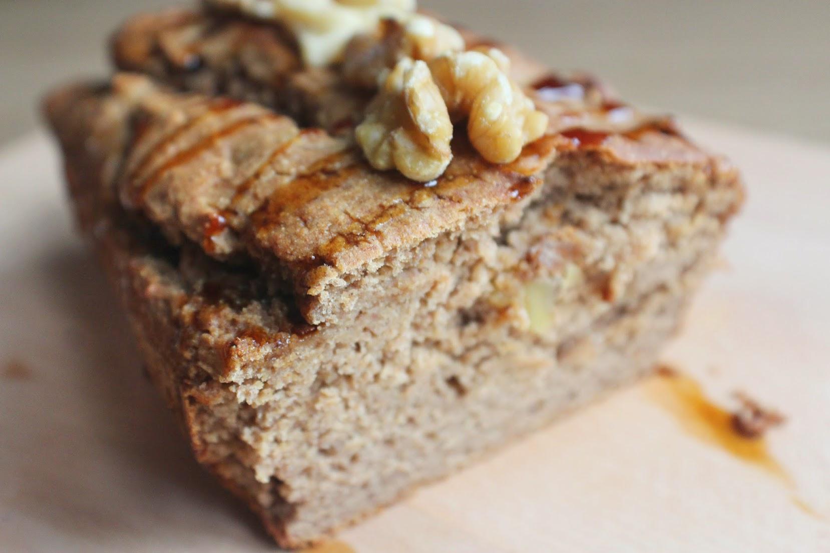 The Ultimate Vegan Banana Date Amp Walnut Loaf Spamellab