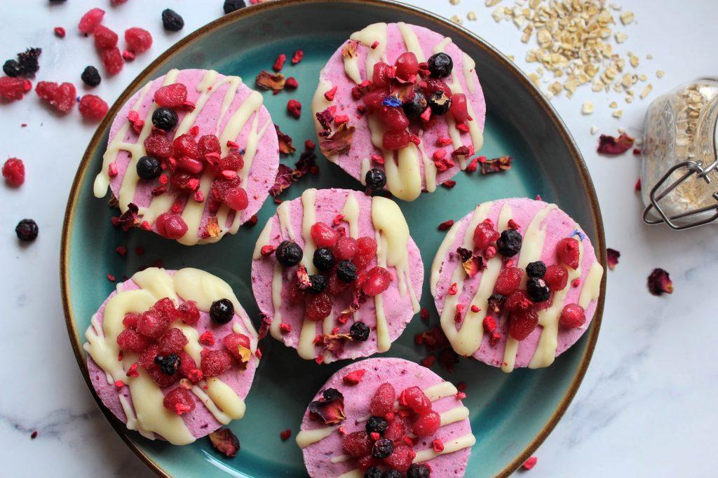 Copos de Cheesecake de Berry congelados - Blog de alimentos saudáveis de SpamellaB 29