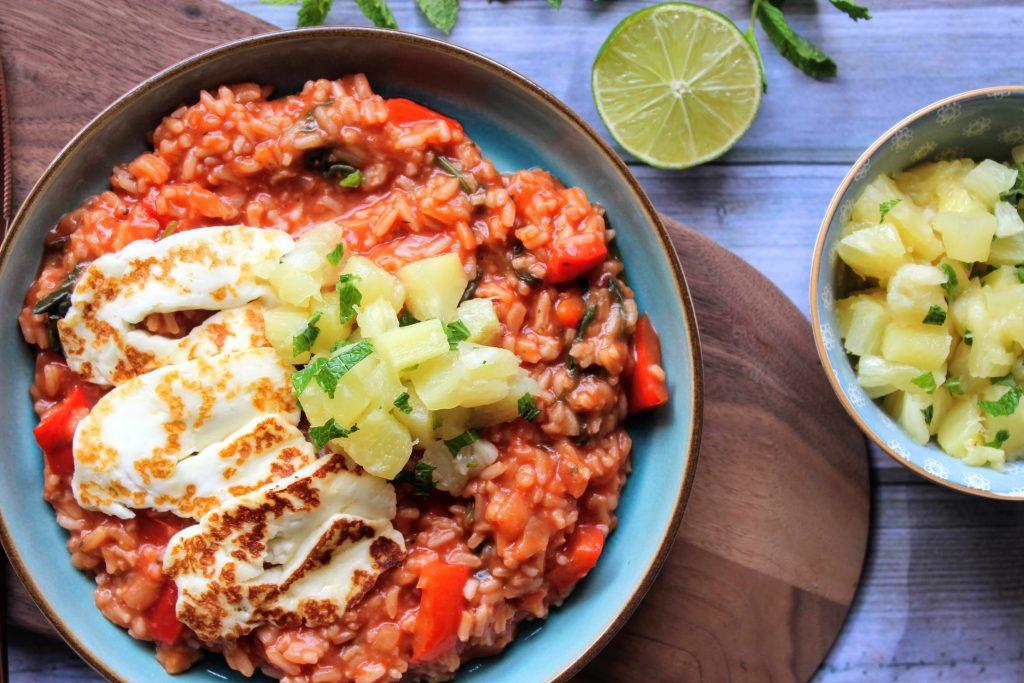 Halloumi havaiano - Blog de comida saudável de SpamellaB 3