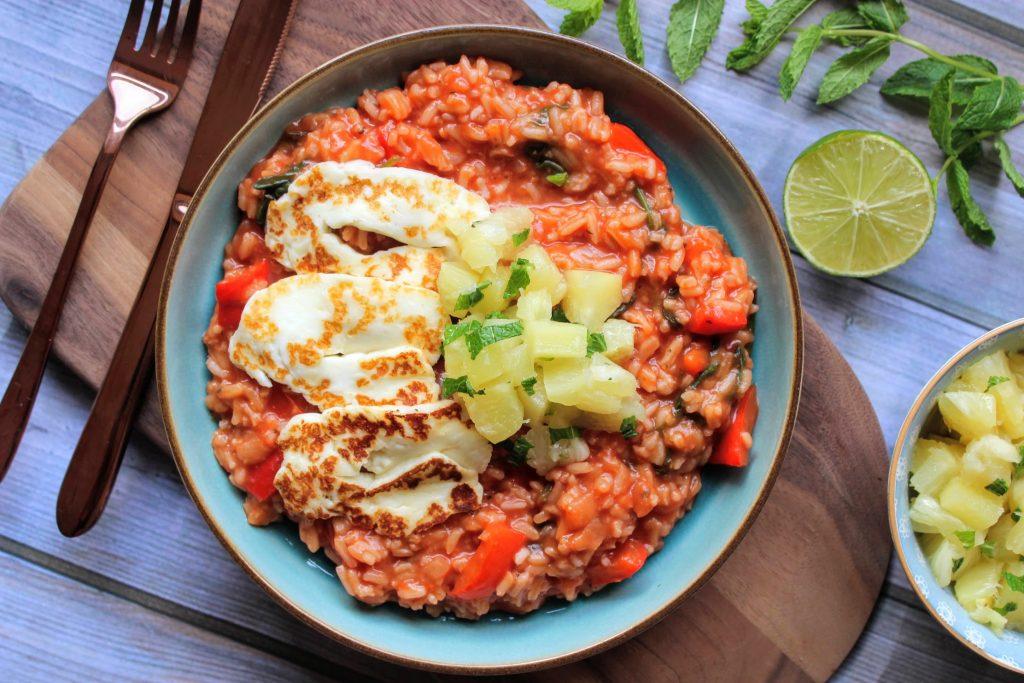 Halloumi havaiano - Blog de comida saudável de SpamellaB 4