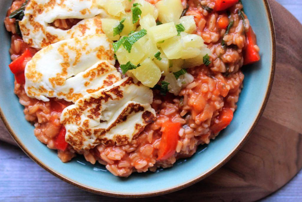 Halloumi havaiano - Blog de comida saudável de SpamellaB 5
