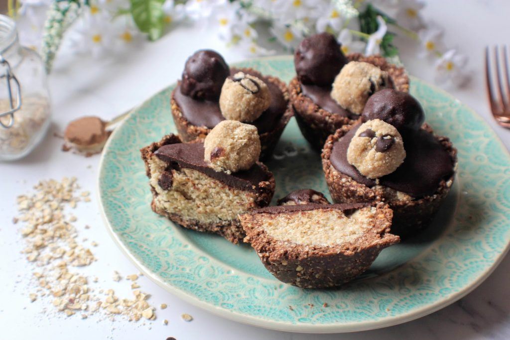 Copos de massa de biscoito de chocolate - SpamellaB's Health Food Blog 4