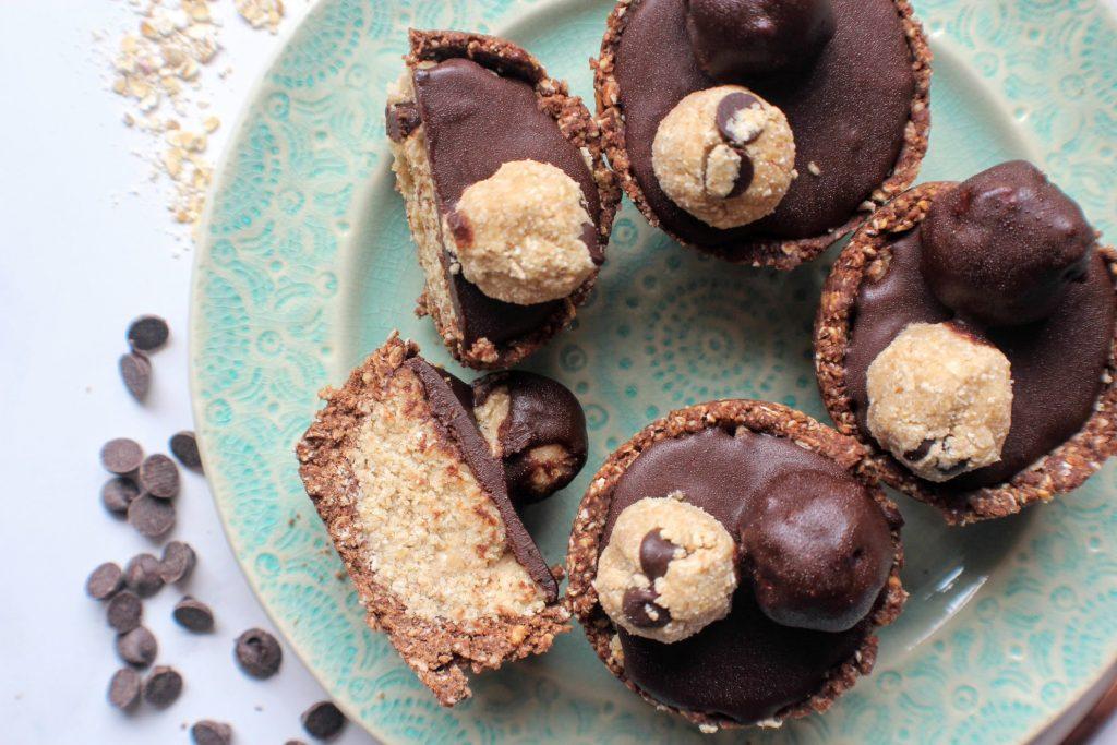Copos de massa de biscoito de chocolate - SpamellaB's Health Food Blog 3