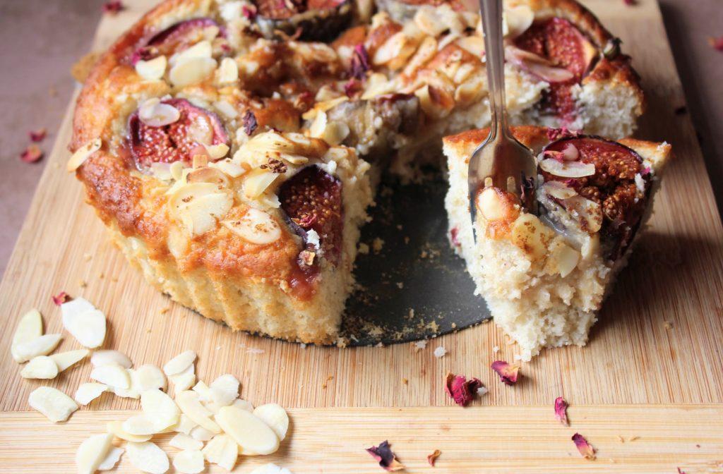 Bolo de Figo de Bordo e Amêndoa - Blog de comida saudável de SpamellaB 4