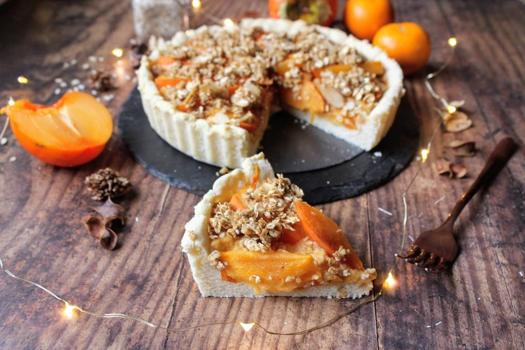 Persimon® Orange Tart - Blog de alimentos saudáveis ​​do SpamellaB 3