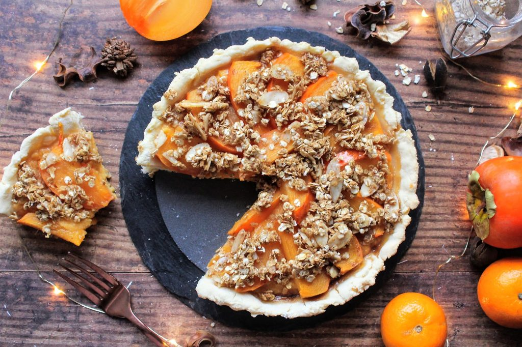 Persimon® Orange Tart - Blog de alimentos saudáveis ​​do SpamellaB 5