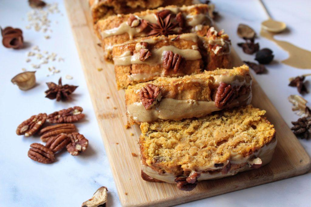 Spiced Pumpkin & Pecan Loaf - Blog de comida saudável de SpamellaB 6