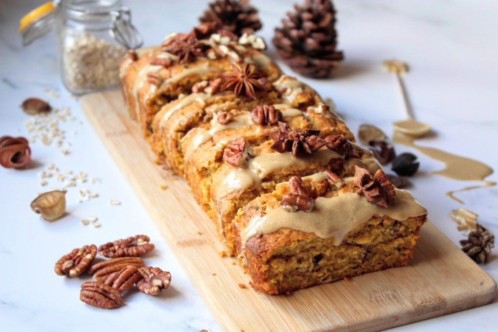 Spiced Pumpkin & Pecan Loaf - Blog de comida saudável de SpamellaB 4