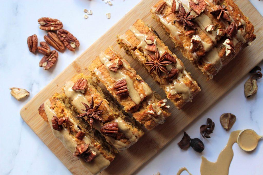 Spiced Pumpkin & Pecan Loaf - Blog de comida saudável de SpamellaB 3