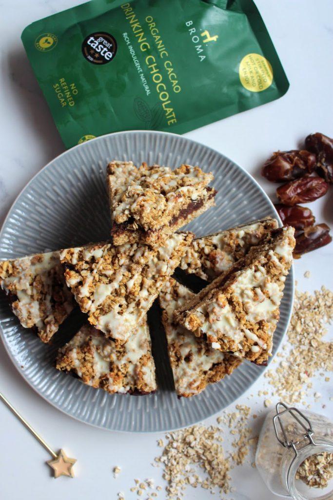 Chocolate Date Crumble Slice - SpamellaB's Health Food Blog 4