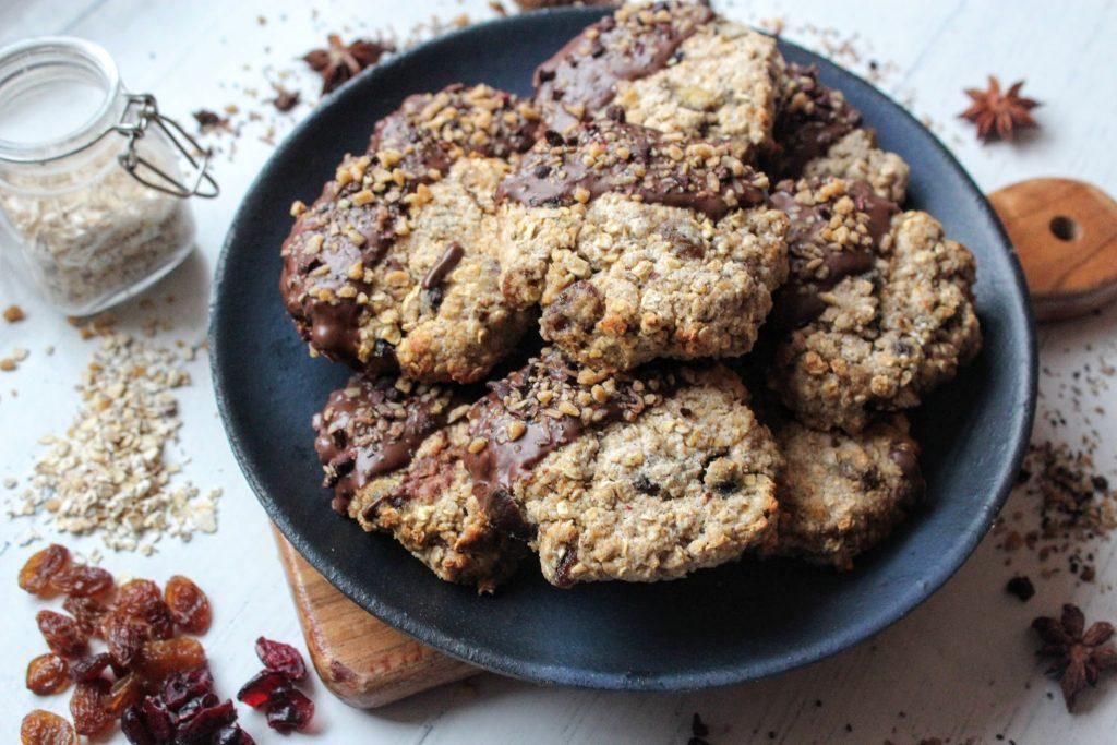 Biscoitos de torta picada com chocolate - Blog de comida saudável do SpamellaB 3