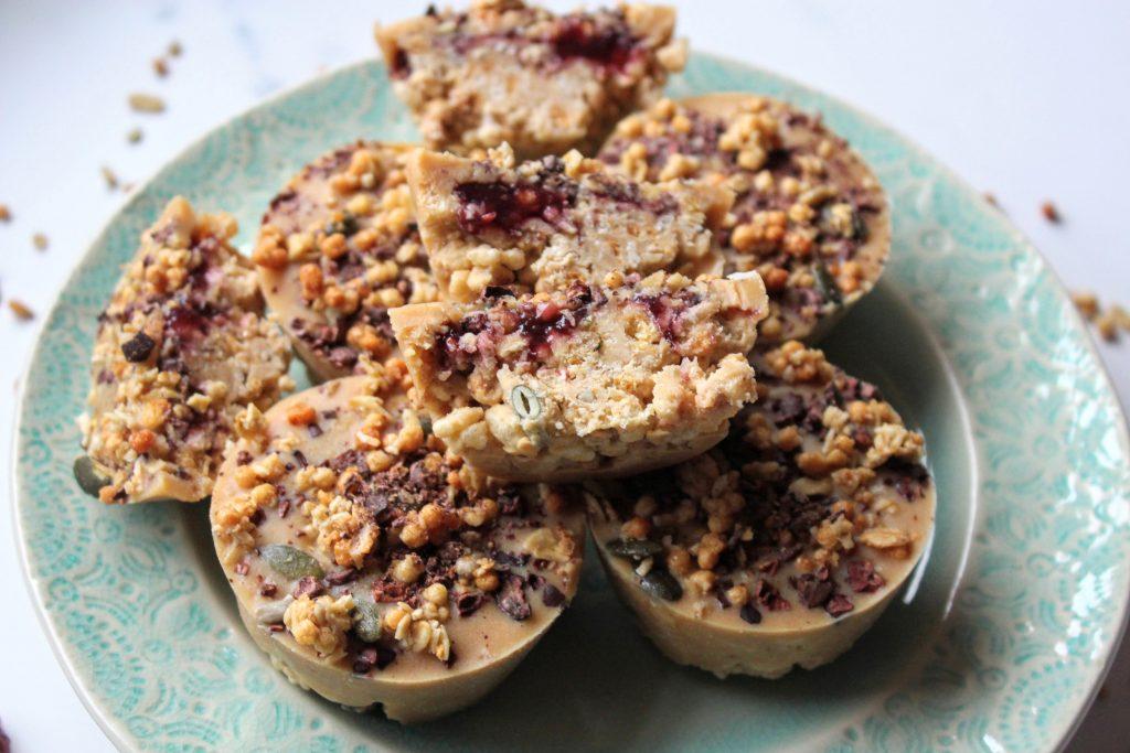 Manteiga de amendoim, geléia e xícaras de granola - Blog de comida saudável do SpamellaB 3